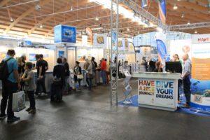 Tauchermesse InterDive in Friedrichshafen
