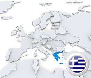 Karte Griechenland