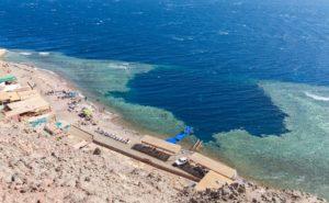 Blue Hole - Dahab in Ägypten