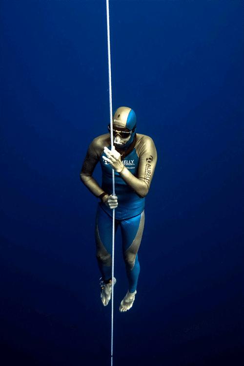 Jens Stötzner beim Weltrekordversuch