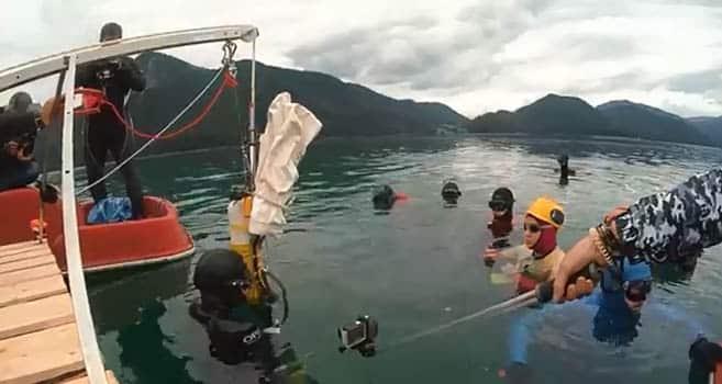 Anna von Boetticher gelang zwei neue Apnoe-Rekorde im Walchensee aufzustellen