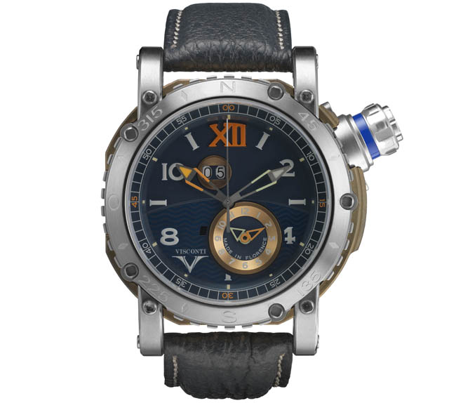 Visconti GrandCruise2016 Bronze-Inox