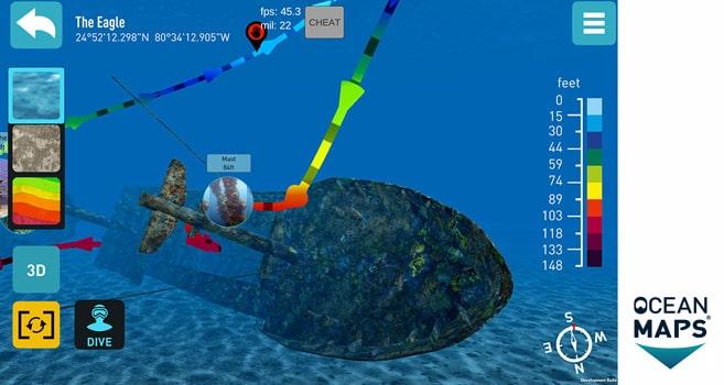 Zuwachs für die Florida App von Ocean Maps