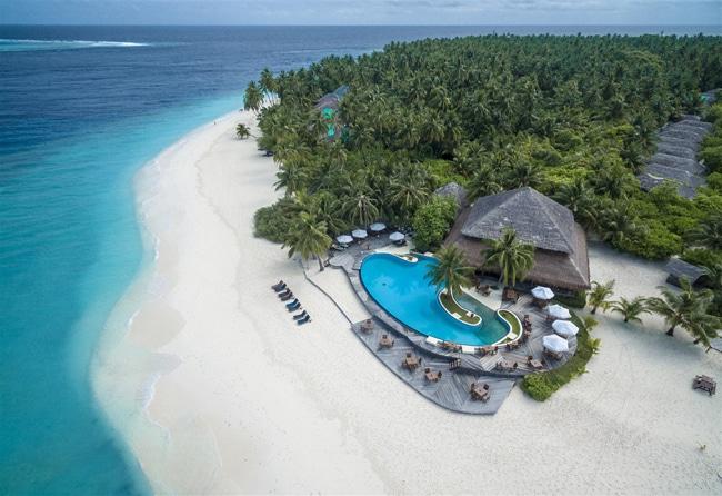 Insel Filitheyo im Nord-Nilandhe Atoll