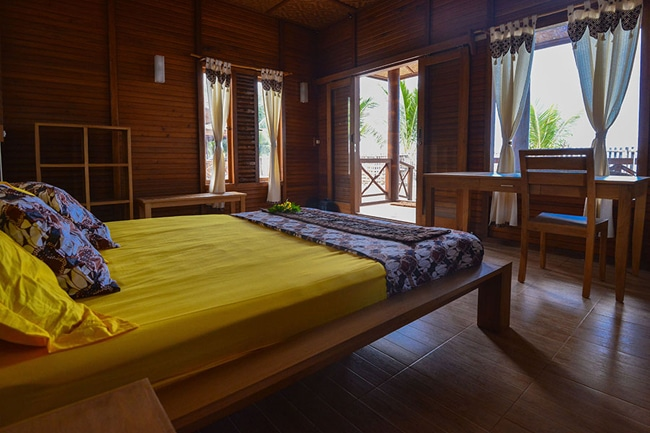 Tompotika Dive Lodge auf der Insel Sulawesi
