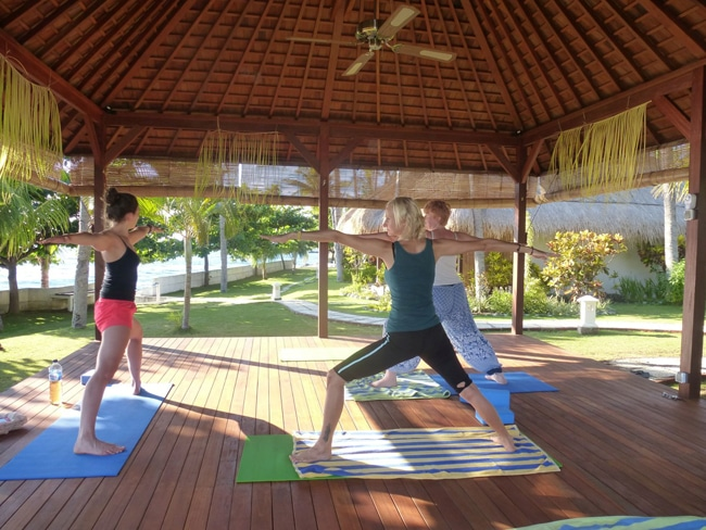 Gazebo Yoga