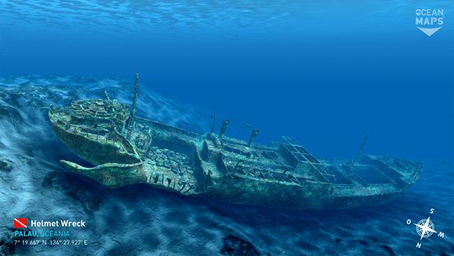 Helmet Wreck - Palau
