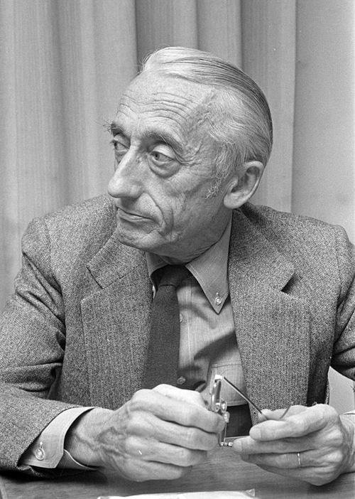 Jacques-Yves Cousteau im Jahr 1972