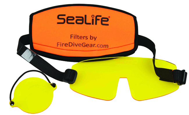 SeaLife-Gelbfilter für Kamera und Tauchmaske