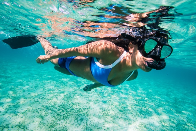 Swimwear aus recycelten Geisternetzen