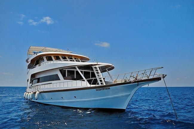 Tauchboot mit MY Sheena - Rene Lipmann