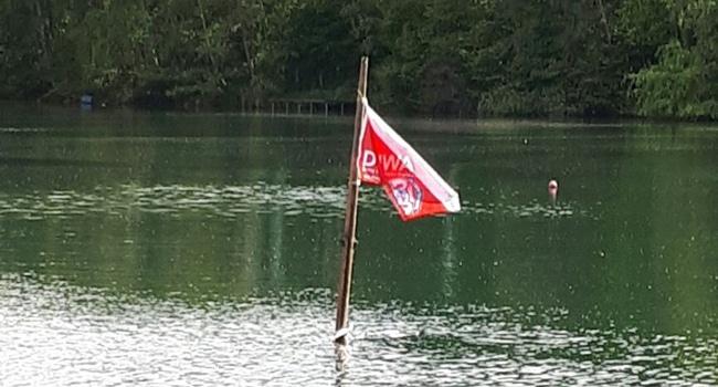 Wrack im Eyller See