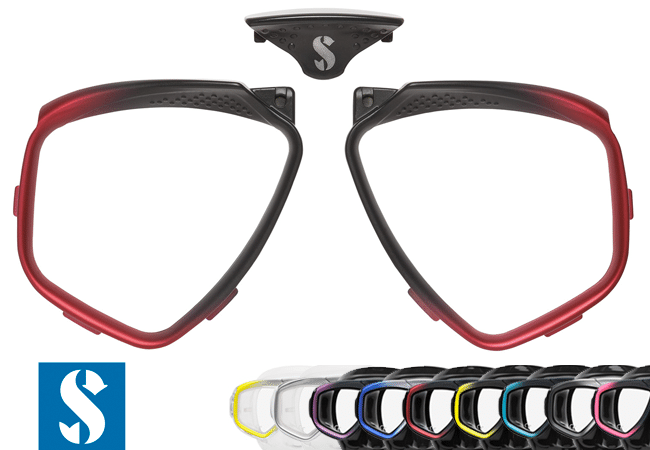 Tauchmaske Zoom EVO in zehn Farben