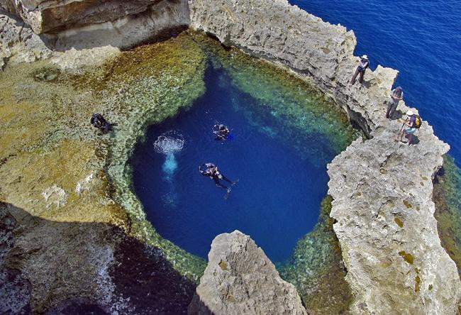 Tauchen in Malta und Gozo im Blue-Hole
