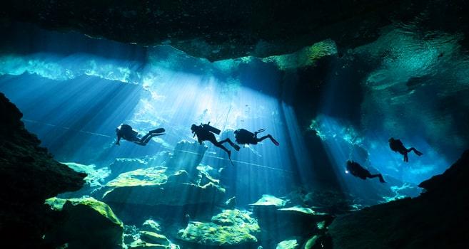 Cenoten Tauchen in Mexiko – die längste Unterwasserhöhle der Welt