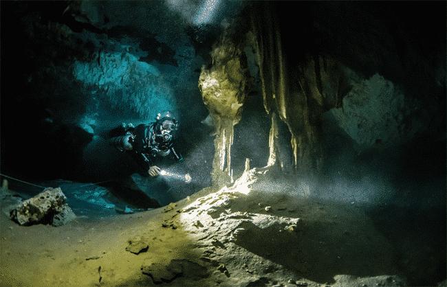Höhlentauchen Cenoten Mexiko