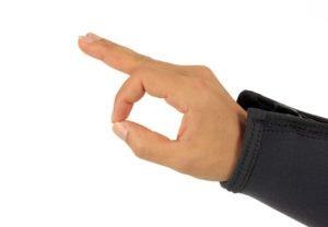 Tauchen Handzeichen alles ok