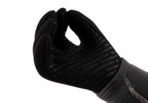 Tauchen Handzeichen alles ok mit Handschuhe