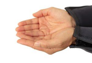 Tauchen Handzeichen - Boot