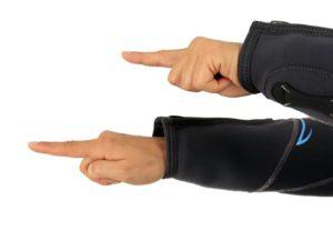 Tauchen Handzeichen - du führst - ich folge