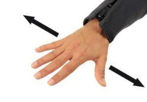 Tauchen Handzeichen - Tauchtiefe halten
